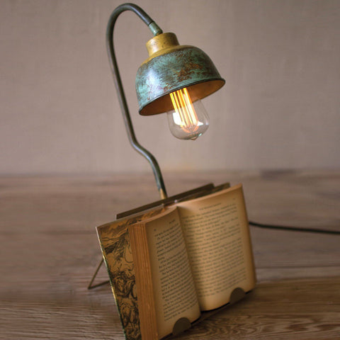 Table Lamp With Book Holder - Cece & Me - Home and Gifts