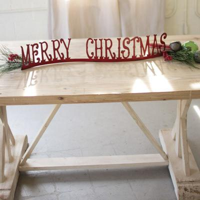 Table Top Mantle Merry Christmas - Cece & Me - Home and Gifts