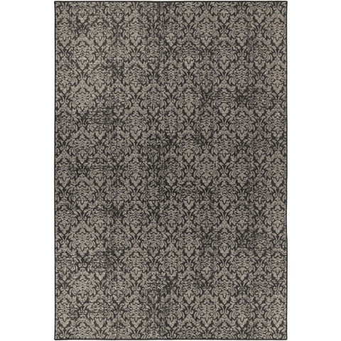 Image of Tabour Rug ~ Charcoal & Black - Cece & Me - Home and Gifts