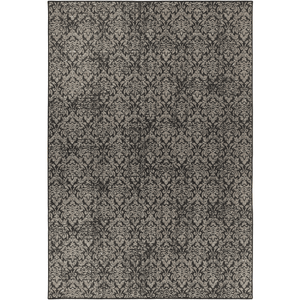 Tabour Rug ~ Charcoal & Black - Cece & Me - Home and Gifts