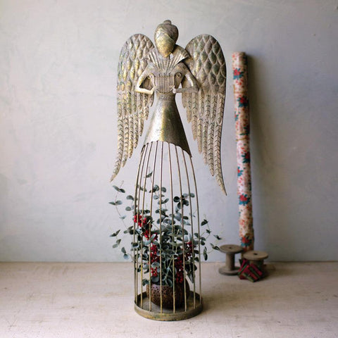 Tall Wire Christmas Angel - Cece & Me - Home and Gifts
