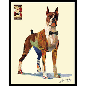 The Boxer ~ Art Collage - Cece & Me - Home and Gifts