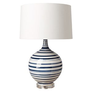 Tideline Table Lamp ~ Navy - Cece & Me - Home and Gifts
