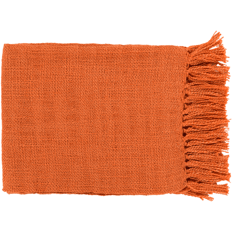 Tilda Throw ~ Burnt Orange - Cece & Me - Home and Gifts