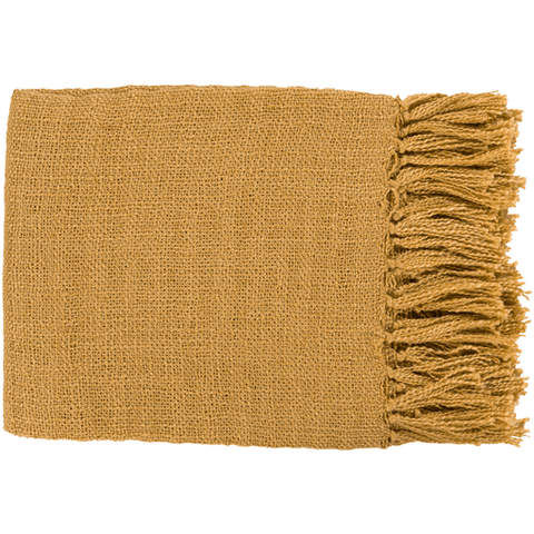 Image of Tilda Throw ~ Mustard - Cece & Me - Home and Gifts