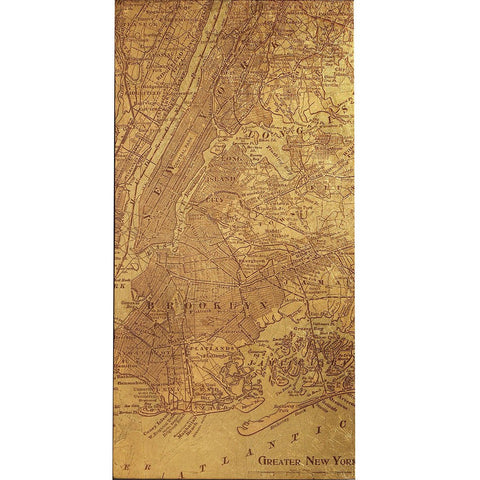 Image of Tinted Map of New York - Cece & Me - Home and Gifts