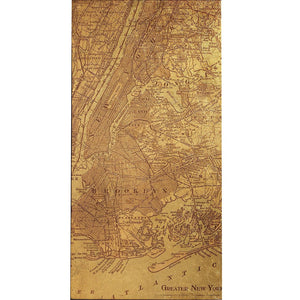Tinted Map of New York - Cece & Me - Home and Gifts