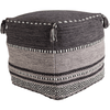 Trenza Pouf ~ Charcoal - Cece & Me - Home and Gifts