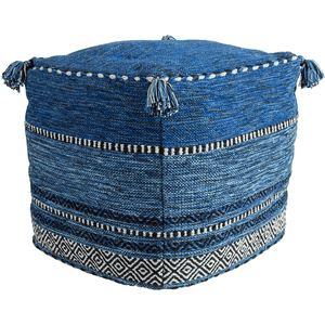 Trenza Pouf ~ Navy - Cece & Me - Home and Gifts