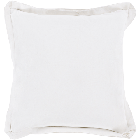 Triple Flange Pillow ~ White - Cece & Me - Home and Gifts