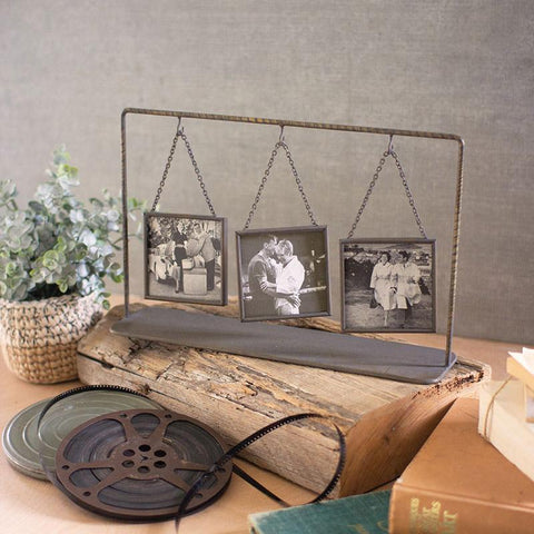 Triple Table Top Photo Frames - Cece & Me - Home and Gifts