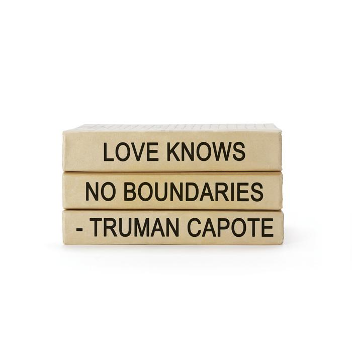 Truman Capote Quote Books Bundle