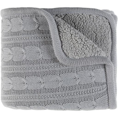 Image of Tucker Throw ~ Gray - Cece & Me - Home and Gifts