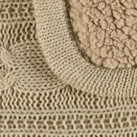Tucker Throw ~ Khaki - Cece & Me - Home and Gifts