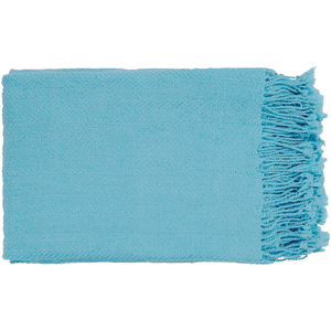 Turner Throw ~ Sky Blue - Cece & Me - Home and Gifts