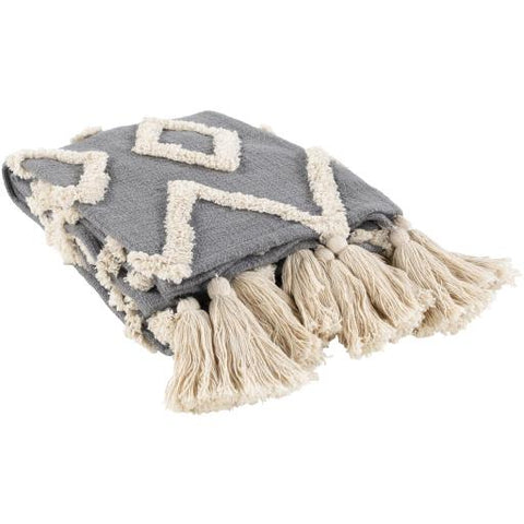 Tut Throw ~ Gray - Cece & Me - Home and Gifts