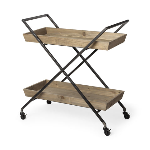 Ursula Wooden Cart - Cece & Me - Home and Gifts