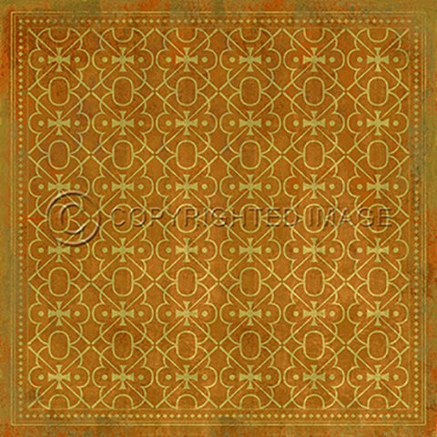 Image of Vinyl Floorcloth ~ Colonel Mustard - Cece & Me - Home and Gifts