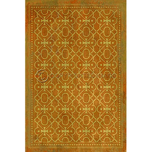 Vinyl Floorcloth ~ Colonel Mustard - Cece & Me - Home and Gifts