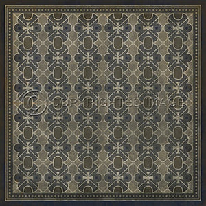 Vinyl Floorcloth ~ London Fog - Cece & Me - Home and Gifts