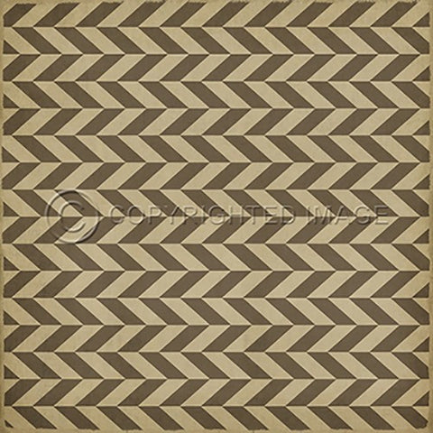 Vinyl Floorcloth ~ Mercurius - Cece & Me - Home and Gifts