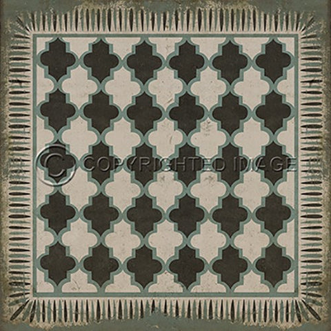 Vinyl Floorcloth ~ Taj Mahal - Cece & Me - Home and Gifts