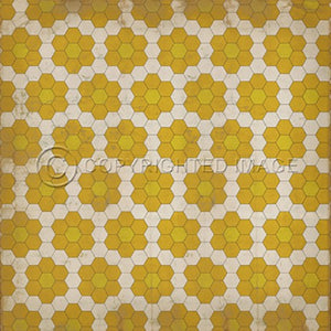 Vinyl Floorcloth ~ The Bees Knees - Cece & Me - Home and Gifts