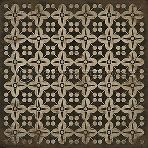 Image of Vinyl Floorcloth ~ There's no place like Home - Cece & Me - Home and Gifts
