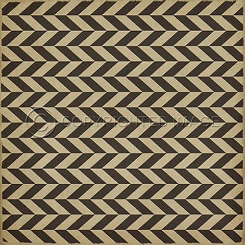 Image of Vinyl Floorcloth ~ Vulcan - Cece & Me - Home and Gifts