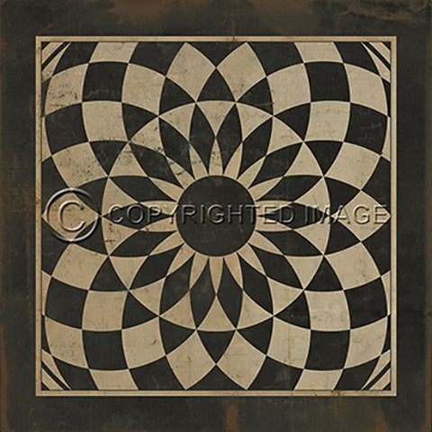 Image of Vinyl Floorcloth ~ We're All Mad Here - Cece & Me - Home and Gifts
