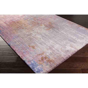 Watercolor Wool Rug ~ Lilac/Medium Gray - Cece & Me - Home and Gifts