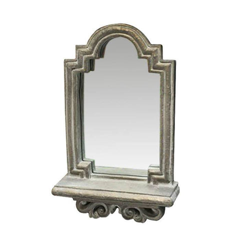 Wall Mirror With Shelf - Cece & Me - Home and Gifts