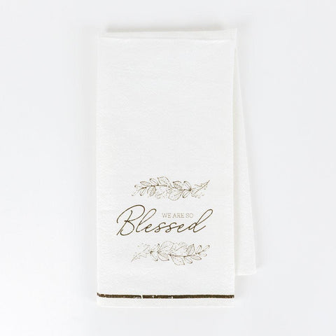We Are So Blessed Dishtowel - Cece & Me - Home and Gifts