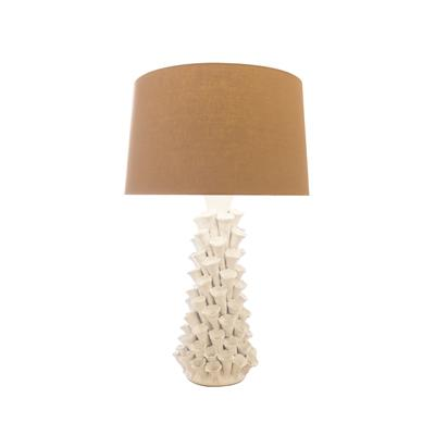 White Coral Ceramic Lamp - Cece & Me - Home and Gifts