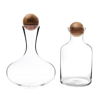Wine & Whiskey Decanter Set - Cece & Me - Home and Gifts