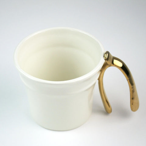 Image of Lucky Wishbone Mug - Cece & Me - Home and Gifts