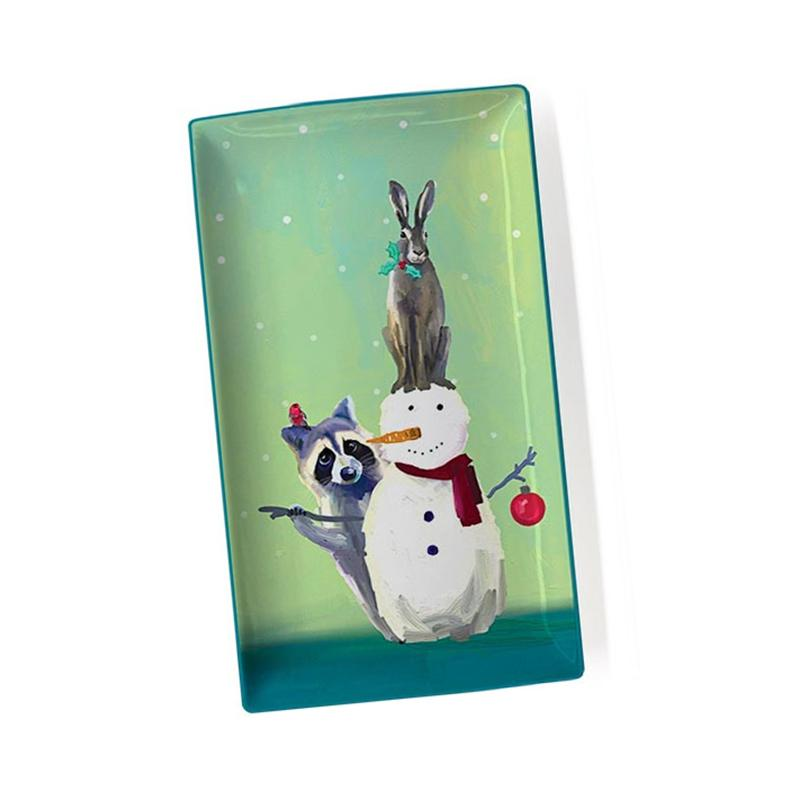 Wondrous Snowman, Raccoon And Rabbit ~ Holiday Collection