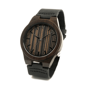 Wood Engraved Bamboo Watch ~ Knight - Cece & Me - Home and Gifts