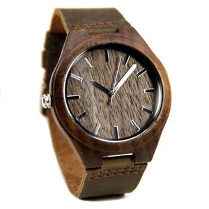 Wood Engraved Bamboo Watch ~ Rustic - Cece & Me - Home and Gifts