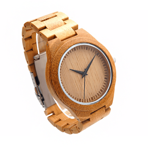 Wood Engraved Watch ~ Crux Link - Cece & Me - Home and Gifts