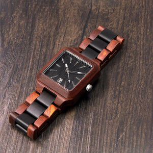 Wood Engraved Watch ~ Forrest Link
