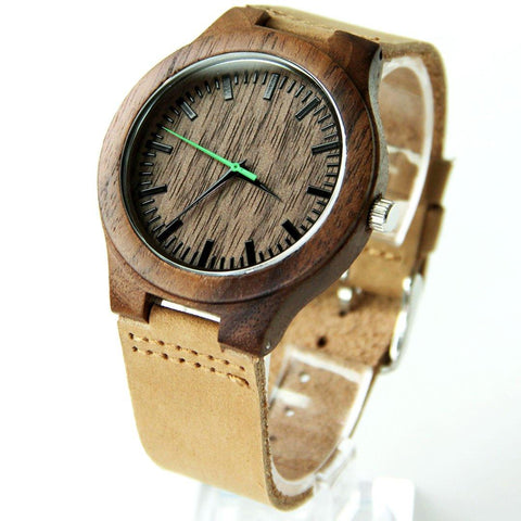 Image of Wood Engraved Watch ~ Urban - Cece & Me - Home and Gifts
