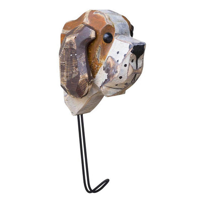Charming Wooden Dog Hook - Cece & Me - Home and Gifts