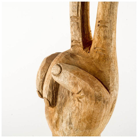 Image of Wooden Hand ~ Pacem - Cece & Me - Home and Gifts