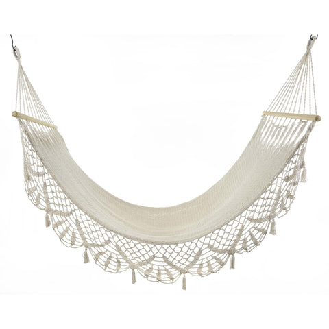 Image of Woven Cotton Hammock - Cece & Me - Home and Gifts