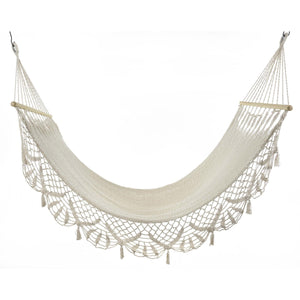 Woven Cotton Hammock - Cece & Me - Home and Gifts