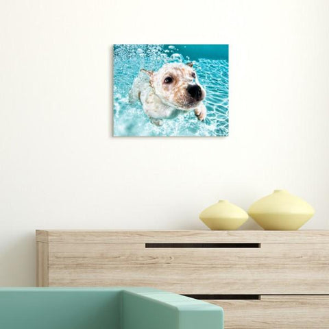 Yellow Lab ~ Tempered Art Glass - Cece & Me - Home and Gifts