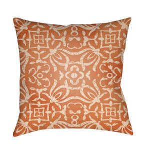 Yindi Pillow ~ Bright Orange, Peach - Cece & Me - Home and Gifts