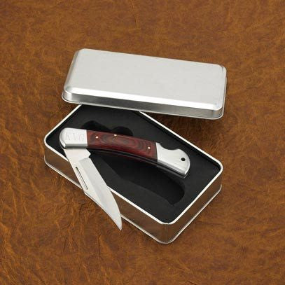 Yukon Lock-Back Knife in Tin Case - Cece & Me - Home and Gifts