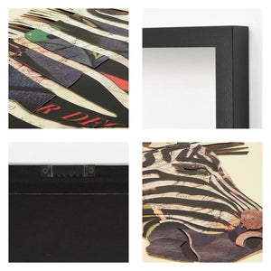 Zebra ~ Art Collage - Cece & Me - Home and Gifts